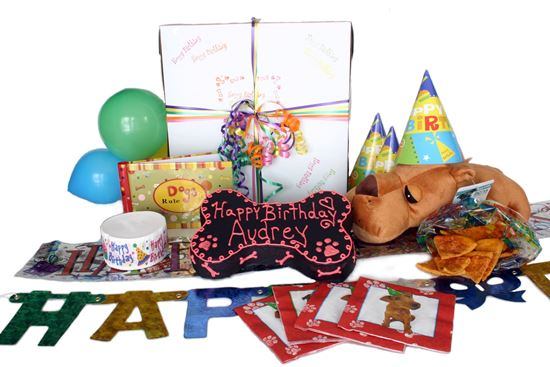Picture of Doggie Birthday Party in a Box