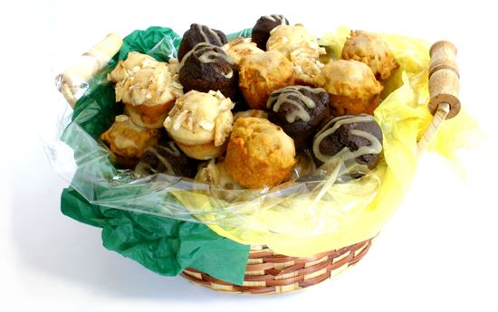 Picture of Big Basket of Dog Muffins