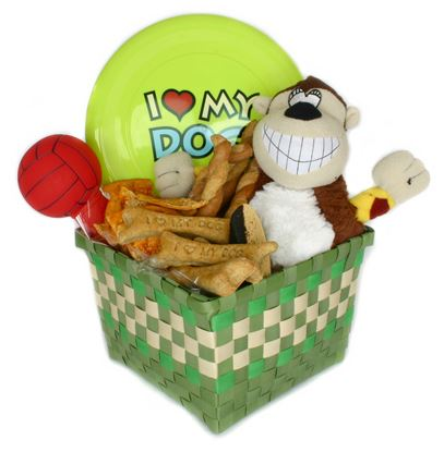 Picture of Large Dog Gift Basket