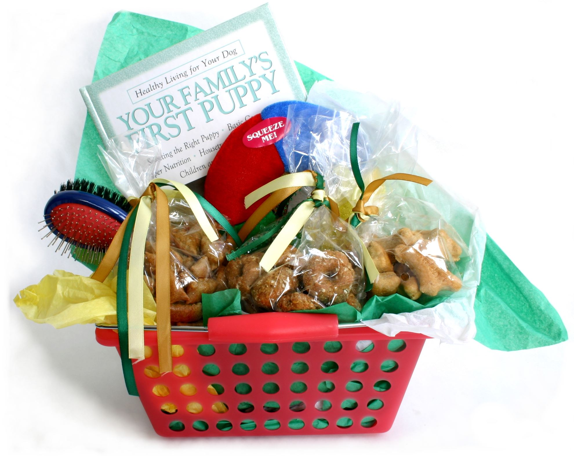 Picture of Puppy Gift Basket  sc 1 st  Healthy Hound Bakery & Puppy Gift Basket. Healthy Hound Bakery - Treats That Are Healthy ...