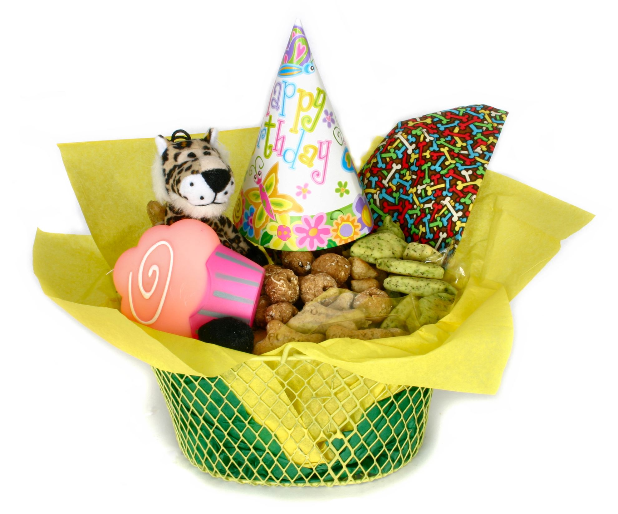 Small Dog Gift Basket. Healthy Hound Bakery - Treats That Are ...