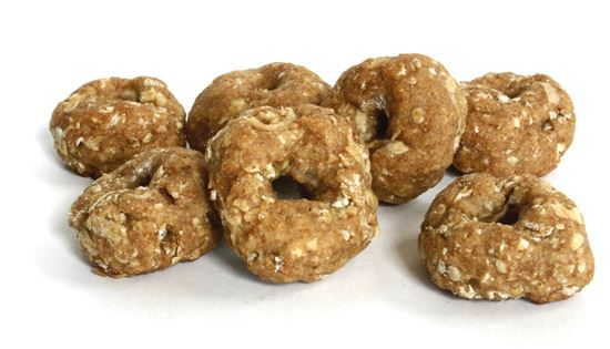 Picture of Apple Oatmeal Mini ''Bagel'' Bites