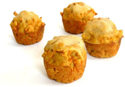 Picture of Carrot Cake Muffins w/ Apple Cider Glaze