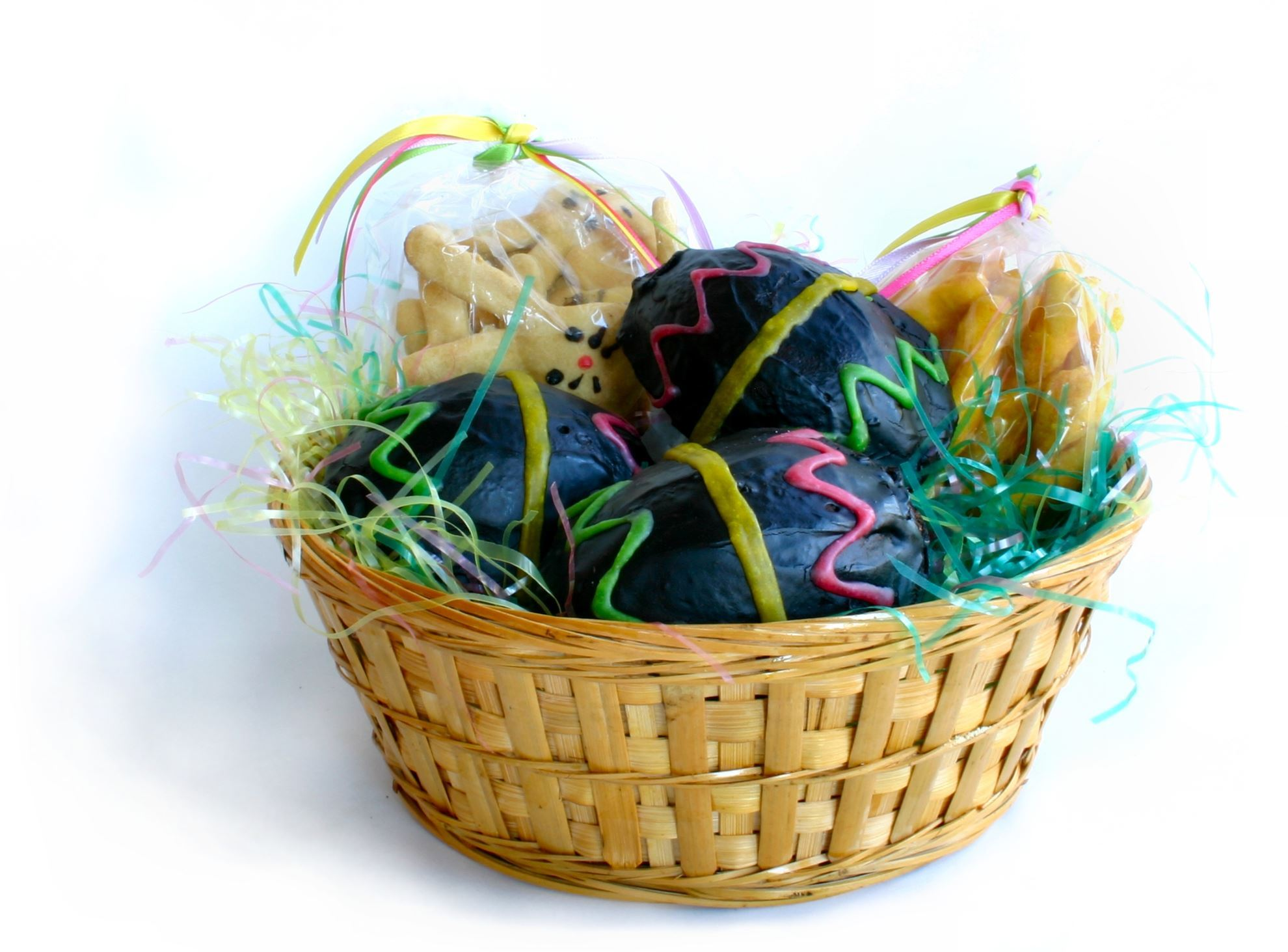 Dog easter basket healthy hound bakery treats that are healthy dog easter basket negle Images
