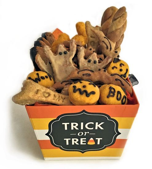 Picture of Halloween Dog Treat Box
