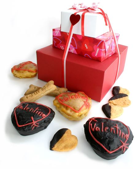 Picture of Valentine Doggie Delight Tower