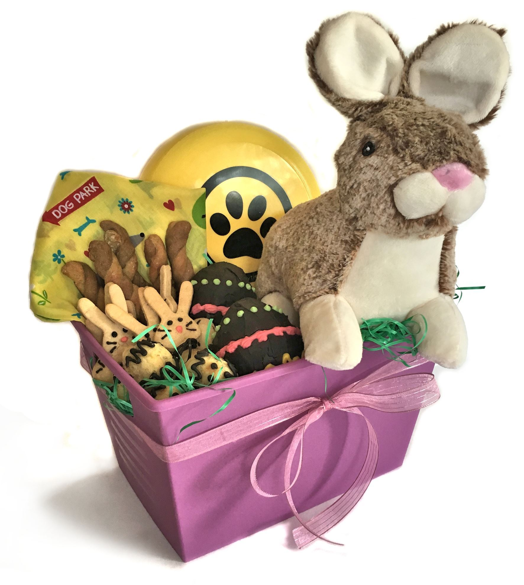 Lots of fun easter basket healthy hound bakery treats that are lots of fun easter basket negle Image collections