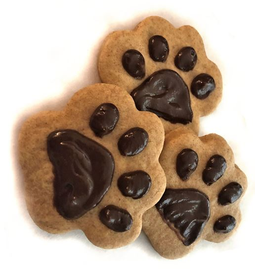 Peanut Butter Paw Print Cookies